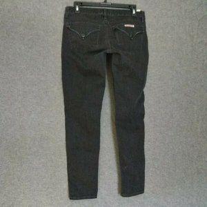 Hudson Signature Skinny Leg Cropped Jeans Size 28